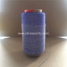 Blue 0.3mm thick embroidery reflective thread